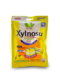 Леденцовая карамель Melland XYLNOSU LEMON MINT CANDY 68 грамм