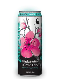 Напиток Arizona Black and White Iced Tea 0,68л