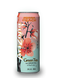 Напиток Arizona Georgia Peach 0,68л