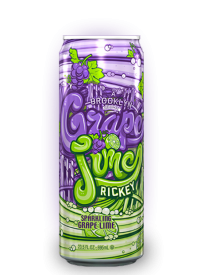 Напиток Arizona Rickey Grape Lime 0,695л