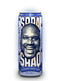 Напиток Arizona Shaq Blueberry Cream Soda