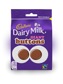 Cadbury Giant Buttons Chocolate 80 грамм