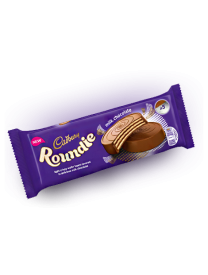 Вафли в молочном шоколаде Cadbury Roundies Milk Chocolate Wafer 150 грамм