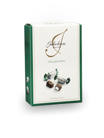 Шоколад Carletti Jakobsen Chocolate Mints Bag in box 140 грамм