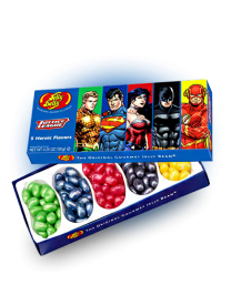 Конфеты Jelly Belly Justice League 120 грамм