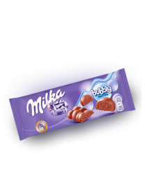Шоколад Milka Bubbly Milk 90 грамм