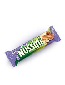 Milka Nussini wafelek milk with hazelnuts 31.5 грамм
