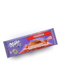 Шоколад Milka Strawberry 300 грамм