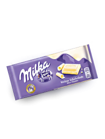 Шоколад Milka White Chocolate 100 грамм