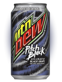 Mountain Dew Pitch Black