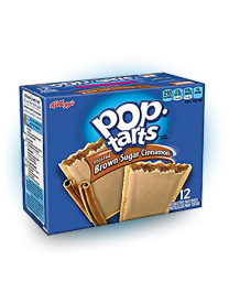 Печенье Pop Tarts 2 PS Frosted Brown Sugar Cinnamon 100 грамм