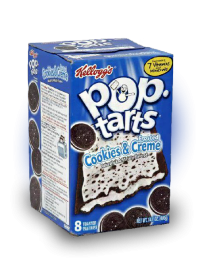 Печенье Pop Tarts 8 PS Frosted Cookies & Creme 400 грамм