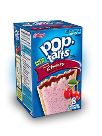 Печенье Pop Tarts 8 PS Frosted Cherry с вишней 416 грамм