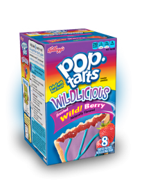 Печенье Pop Tarts 8 PS Frosted Wild! Berry с начинкой из лесных ягод 430 грамм