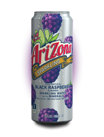 Напиток AriZona Sparkling Black Raspberry 355 мл