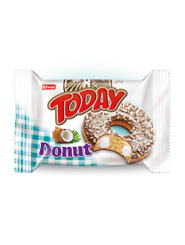 Кекс Today Donut вкус кокос 50 грамм