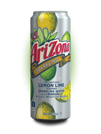 Напиток AriZona Sparkling Lemon Lime 0.355л