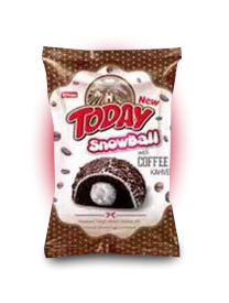 Кексы Today Snowball Кофе 50 грамм
