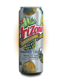 Напиток AriZona Sparkling Pineapple Coconut 355 мл