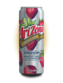 Напиток AriZona Sparkling Strawberry 355 мл