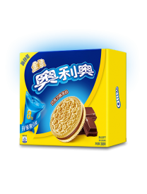 Печенье Oreo GOLD Chocolate Sandwich Chocolate Cookies 388 грамм