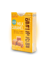 Карамель LOTTE RICH MILK CARAMEL 50 грамм