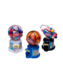 Жвачка KIDSMANIA HOT SPORTS GumBALL в диспенсере 40 грамм