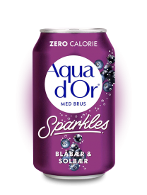 Напиток Aqua d'Or Blueberry & Blackcurrant 0.33л
