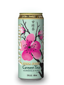 Напиток Arizona Extra Sweet Green Tea 0,68л