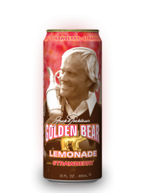 Напиток Arizona Golden Bear Strawberry Lemonade 0,68л