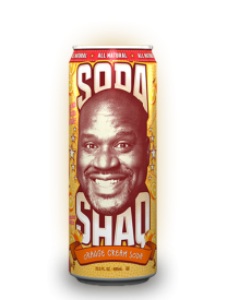 Напиток Arizona Shaq Orange Cream Soda
