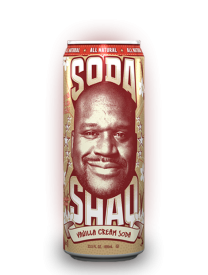 Напиток Arizona Shaq Vanilla Cream Soda