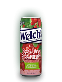 Напиток Arizona Welchs Sparkling Strawberry 0,695л