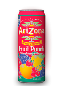Напиток Arizona Fruit Punch 0,34л