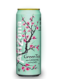 Напиток Arizona Green Tea 0,34л