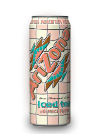 Напиток Arizona Peach Tea 0,68л