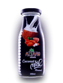 Напиток Aziano Coconut milk original with Almond 280 мл