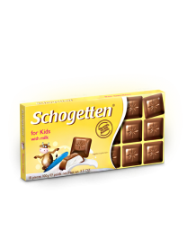 "Шоколад Schogetten Trilogia Kids Chocolate ""Детский"" 100 грамм"