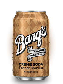 Barq's Cream Soda French Vanilla