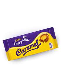 Шоколад Cadbury Caramel Chocolate (16 шт.) 120 грамм