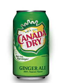 Canada Dry Ginger Ale 0,355 л