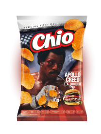 Чипсы Chio Chips Apollo Creed L.A. Burger Style 150 гр