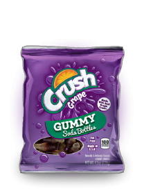 Мармелад Crush Grape Soda Bottle Gummies 128 грамм