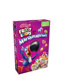 Готовый завтрак Kelloygs Froot Loops Marshmallow 297 грамм