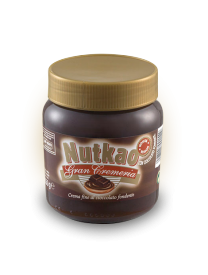 Паста Nutkao Jar of Gran Cremeria dark chocolate spread 350 грамм