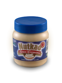 Паста Nutkao Jar of Gran Cremeria milk and Hazelnut spread 350 грамм