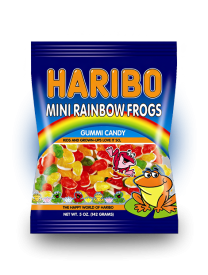 "Мармелад ""HARIBO"" Лягушки (Mini Rainbow Frogs) 142 грамм"