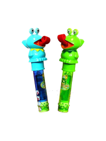 Леденец и Свисток 11 грамм Kidsmania Ribbit Pop Lollipop
