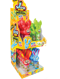 Леденец Johny Bee Squeeze Pop Mania 23 гр