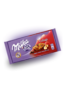 Milka Collage (Fruit, Raspberry, Hazelnut) 18 шт. 93 грамм
